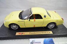 1:18 Ford Thunderbird Show Car (Light Yellow) - Maisto Special Edition 31866