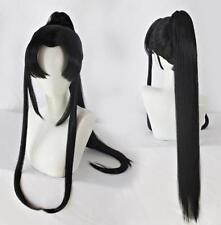 Anime Mo Dao Cosplay Jin ling Wig Black Long Hair 90 cm Straight Hair
