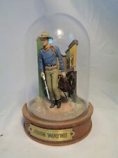 Franklin Mint Glass Domed John Wayne American Icon Limited Edition Figurine