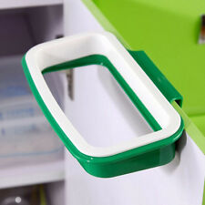 New Portable Plastic Door Sink Car Garbage Sucker Trash Bag Can Rack Holder