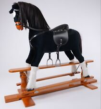 """Brand New LUXURIOUS EXTRA LARGE Rocking Horse """"SHADOW"""" SIZE XL age 6 -13 years"""