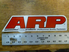 ARP American Racing Products Large Sticker Decal