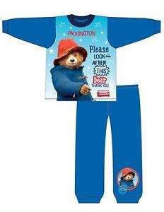 NEW Boys  Cotton  The Paddington Bear Pyjama set 1-5 Years