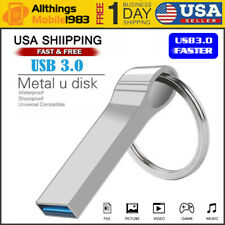 2TB USB 3.0 Metal Storage Memory Stick Mini USB Flash Drive Pendrive Key U Disk