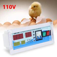 110v Xm 18d Automatic Digital Incubator Chicken Egg Hatcher Humidity Controller