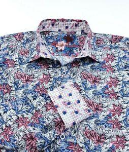 Robert Graham Men's M Bloomfield Floral Classic Fit Long Sleeve Sport Shirt NWT
