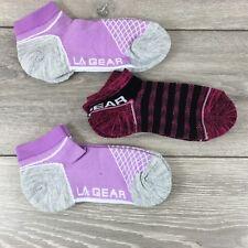 3 x La Gear Trainers Ladies Socks Sports Fitness UK 4-8 EU 37-42 A362-10