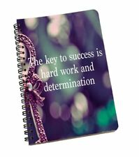 Quotes Print A5 Office Stationery Notebook Journal Cover Spiral Notepad Paper
