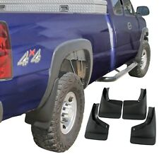 Silverado Sierra Mud Flaps 1999-2007 Mud Guards Splash 4 Piece Front and Rear