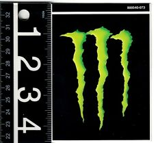 MONSTER ENERGY DECAL Monster 3.25 in. x 4.125 in. Dirtbike ATV Toolbox Sticker
