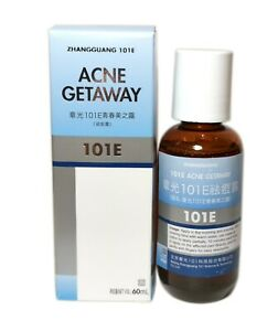 1 Bottle 101E Herbal Lotion great for ACNE Getaway Blue Package