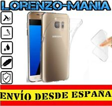 "Funda Silicona Carcasa posterior Samsung Galaxy S7 ""5.1"" Transparente 1mm"