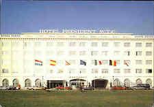 Brüssel Bruxelles ~1970 Carte Postale Hotel Restaurant President World Trade C.