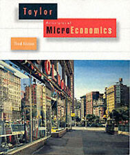 NEW Principles of Microeconomics by John B. Taylor