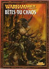Bêtes du chaos Jeu de batailles fantastiques armée WARHAMMER 2003 Beast french
