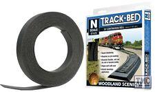 ST1475 Woodland Scenics N Gauge Trackbed Roll 24'