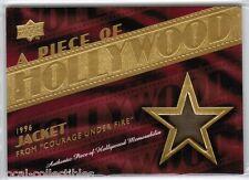2008 UD Piece of Hollywood Memorabilia Denzel Washington Courage Under Fire Card