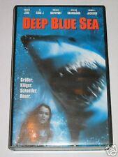 Deep Blue Sea - VHS/Horror/Samuel L. Jackson/Thomas Jane/Warner