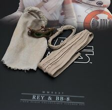 Hot Toys New Star Wars Force Awakens Rey Goggles Scarf Wrap Belt 1/6 MMS337