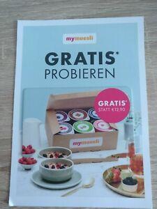 mymuesli Gutschein für gratis 6 Bio-Müsli2Go Probierpaket ~ 15€ MBW