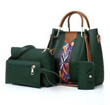 Women Shoulder Bags Hand Bags Crossbody Bags 4Pc Set