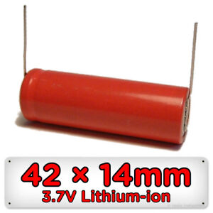 Replacement Shaver Battery for Philips Philishave Touch 42mm x 14mm 3.7V Li-ion