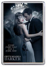 Fifty shades Darker movie poster, Christian Grey Fridge Magnet 02