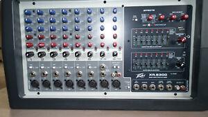 Peavey XR 8300 600 watt Mixer amp. Very good condition, fully working