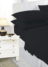 Draps-housses noires pour le lit Chambre