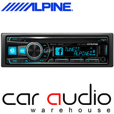 Alpine CDE-185BT Single Din Bluetooth CD MP3 USB AUX iPhone 3 Preouts Car Stereo