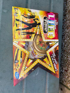 The Game of Life Fame Edition Board Game by Hasbro | Age 8+ Players 2-4 complete