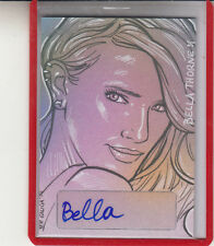 "2014 LEAF POP CENTURY MASTERWORKS  BELLA THORNE ""SHAKE IT UP"" AUTOGRAPH AUTO"