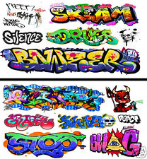 HO Scale Graffiti 2-Pack #22 - Weather Your Box Cars, Hoppers, & Gondolas!