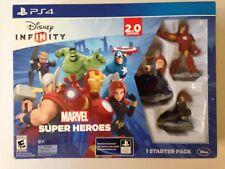 NEW PS4 Disney Infinity 2.0 Game Marvel Super Heroes Starter Pack **SEALED**