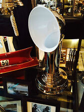 """""""new"""" Steamer Funnel Lamp, lamp in the Shape of a classic Ship air scoop"""