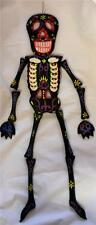 MAD GOTHIC PUNK VOODOO WOODEN TRIBAL SKELETON WALL HANGING PLAQUE Skull Bones