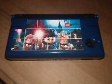 Black Nintendo DSi For Parts Or Repair (Triggers Dont Work) With Lego HP Case