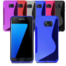 Ultra Slim Soft Wave Gel Case Silicone Cover For Samsung Galaxy S7 Edge