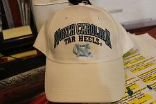 NCAA Noth Carolina Tar Heels  Hat White Strap-Back Style