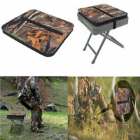 Hunting Seat Cushion Mat w/ Adjustable Strap for Camping Picnic Pigeon Shooting