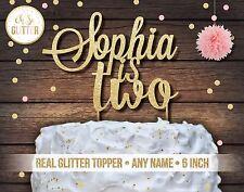 custom cake topper, name cake topper, custom topper,glitter, cake smash, 2nd,1st