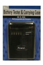 Delkin Battery Tester With 4 XAA Rechargeable Batteries 2900mah
