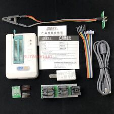 USB BIOS Universal SP8-F Programmer Full Pack FLASH/EEPROM/SPI with test clip