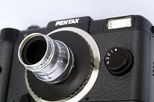 1.9/8mm Kinotar quality vintage movie lens Pentax Q D-mount adapter included TOP