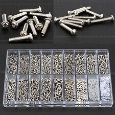 1000Pcs 18 Types Kit Montres Vis Ecrou Outil Optique Réparation Micro Lunettes