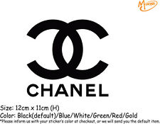 CHANEL Fashion Logo Stickers Reflective Car Wall Decals Stickers Best Gifts