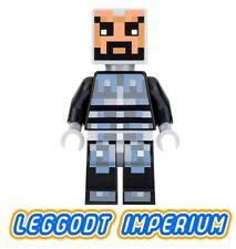 LEGO Minifigure - Minecraft Skin 5 - armour minifig min038 FREE POST