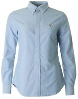 Ralph Lauren Custom Fit Oxford shirt In Blue