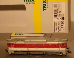 Minitrix N:  Limitiert  16736 ZSSK Diesellok Serie 750 129-9  Digital Neu + OVP