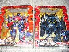 Lot of 2, Transformers ROTF Leader Class figures, Jetfire & Optimus Prime , 2008